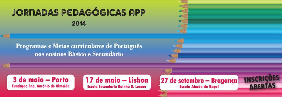 Jornadas Pedagógicas APP – 2014